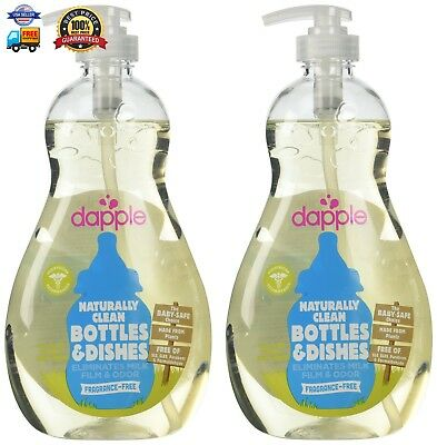 Dapple Baby Bottle Dish Liquid 16.9 Oz (Pack of 2)