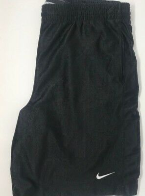 Mens Vintage Nike Basketball Athletic Shorts Black Size XL EUC