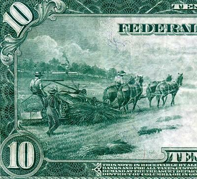 HGR FRIDAY 1914 $10 FRN ((Wanted RICHMOND)) AWESOME GRADE