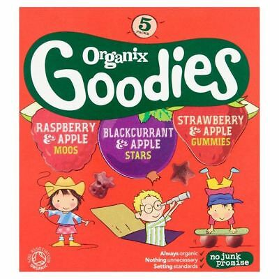 Organix Goodies Gummies Apple and Strawberry 12g (Pack of 12)