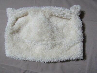 NWT BABY GAP IVORY Sherpa BEAR Lined WINTER HAT Toddler Size S M 2-3 years  -  11.99  2ef5c2d5febf