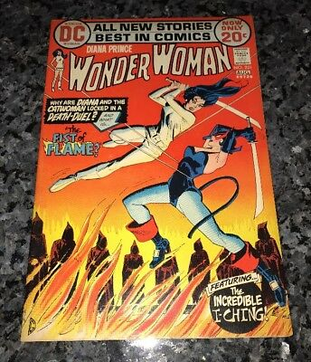 Awesome Wonder Woman #201 Really Nice Shape Cat-Woman Cover See My Others!!