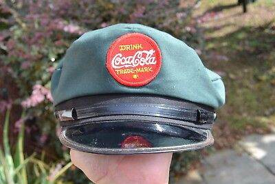 Coca Cola Delivery Hat Vintage 1986 100th Anniversary Limited Ed.