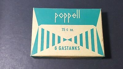 poppell 1960 lighter gastank Dutch 2 with box
