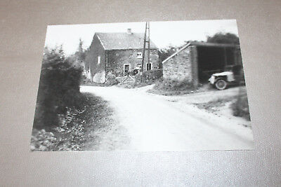 Reproduction Photo +- 19,5 x 30,5 cm Vintage Jalhay (n°06)