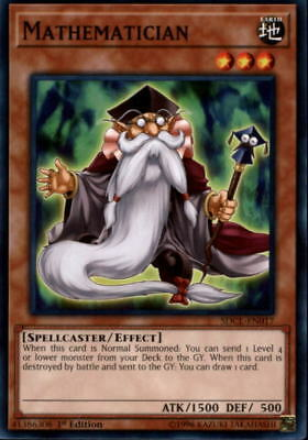 2017 Yu-Gi-Oh Structure Deck Cyberse Link #SDCLEN017 Mathematician C