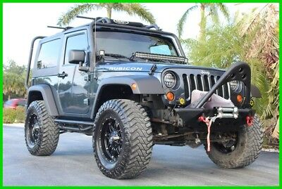 2007 Jeep Wrangler Rubicon 2007 JEEP WRANGLER 4X4 RUBICON CUSTOM 35s METAL BUMPERS LIFTED HID WINCH 6 SPEED