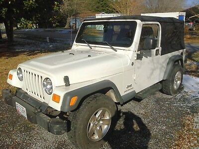 2005 Jeep Wrangler Sport Jeep Wrangler LJ Unlimited 2 door