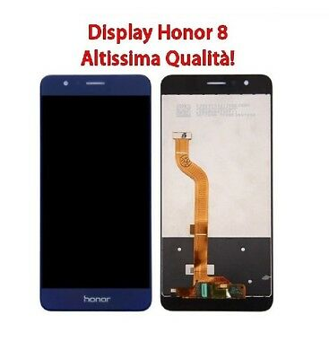 Lcd Display Per Huawei Honor 8 Blu Schermo Frd-L09 Frd-L19 Touch Screen Nuovo