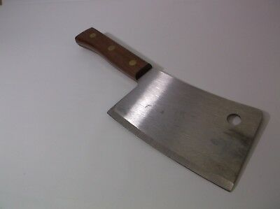 Dexter 5387 - 7in Butcher's Large Size Cleaver Blade Pro Duty Heavy Industrial