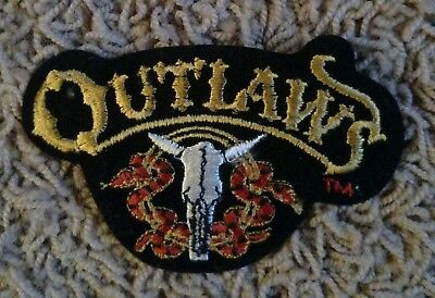 Outlaws patch New and rare find item with free shipping.
