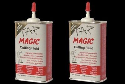 2-pack Tap Magic Cutting Oil 4 oz. Can Spout Top *Cannot Ship To California*