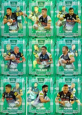 2017 ESP NRL ELITE MOJO Emerald team set Penrith panthers 10/10