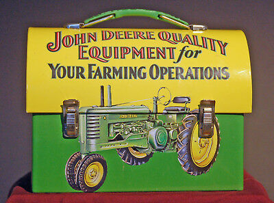 """John Deere lunchbox by """"Tin Box"""" small lunchbox 2009 Issue"""