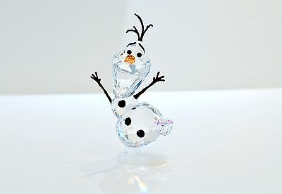 Swarovski Disney 2016 New Elsa Frozen Olaf Snowman 5135880 Brand New in Box