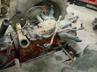 Massey Ferguson FE 35 Grey and Gold, rear axle, for parts
