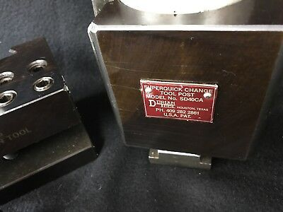 """Dorian Quick Change Tool Post SD40CA With 6 tool Holders """"NO RESERVE"""""""