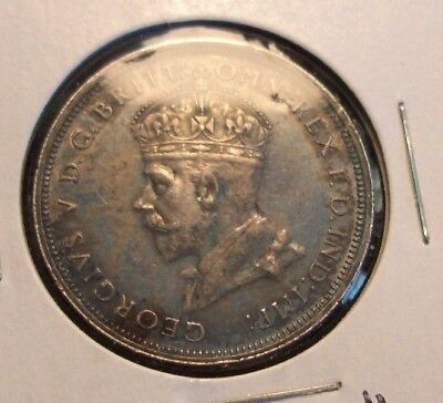 1927 Australia one Florin in AU condition