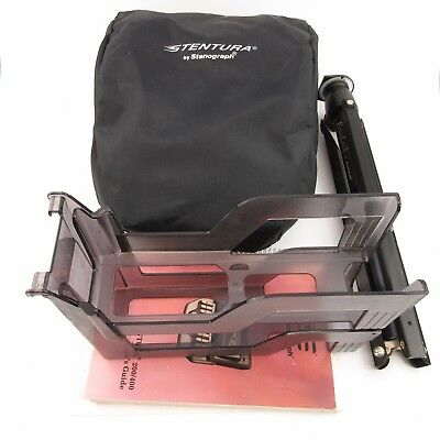 Stenograph Stentura 200 w/Tripod, Tray, Cover, & Books Court Dictation Shorthand