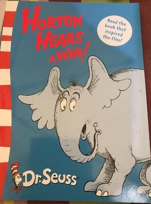 Horton Hears A Who! Yellow Back Book by Dr. Seuss Paperback, 2004