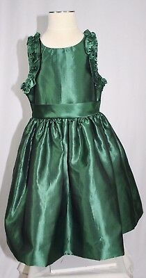 JANIE AND JACK girls size 3 SPECIAL OCCASION green dress