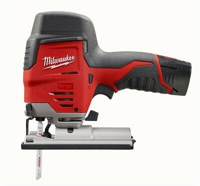 Milwaukee M12 12-Volt Lithium-Ion Cordless High Performance Jig Saw Kit w/(1)