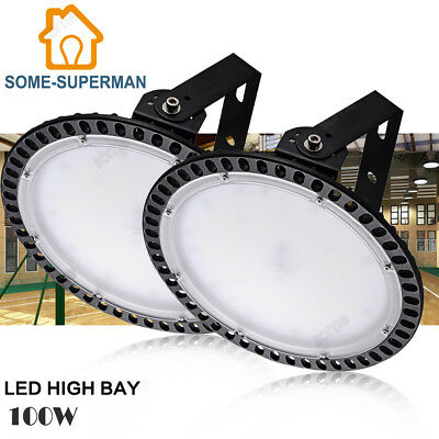 2X 100W Ultrathin LED High Bay Light Warehouse Industrial Factory Anti-explosion