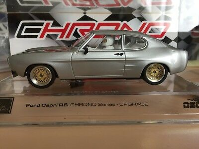 50301 Src Ford Capri Lv Aggressive Chrono Series Slot Car 1:32 Scale Silver