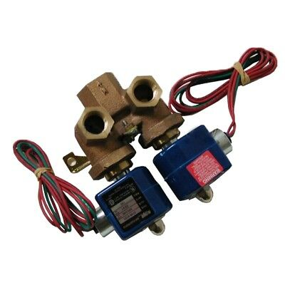 Milnor Mixing Valve Part 96P016A71 DUO, INLET 1/2, OUTLET 3/4, 220/240V, 50/60HZ