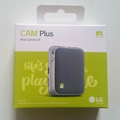 LG Cam Plus CBG-700 Comfortable shooting grip for LG G5 Silver NEW OEM