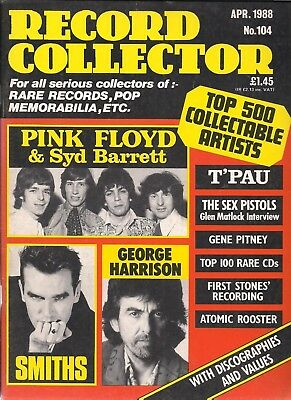 Record Collector  #104 April 1988   Syd Barrets Pink Floyd, The Smiths