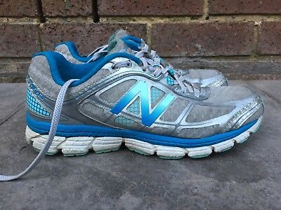 New Balance Stability 860 V5 Women's Running Shoes Athletic Blue Good Condition