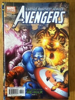Avengers (Captain America) #72 / 487 (VF) from November 2003 - discounted post