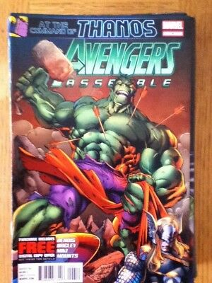 Avengers Assemble (Hulk, Thor) issue 4 (VF) from August 2012 - discounted post