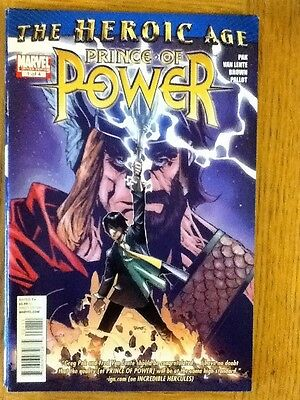 Heroic Age: Prince of Power 1 of 4 (VF) from July 2010 - postage discounts apply