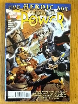 Heroic Age: Prince of Power 3 of 4 (VF) from Sept 2010 - postage discounts apply