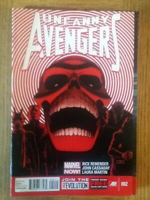 Uncanny Avengers issue 2 (VF) from January 2013 - postage discounts apply