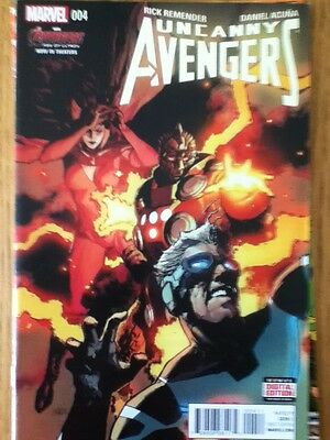 Uncanny Avengers issue 4 (VF) from July 2015 - postage discounts apply