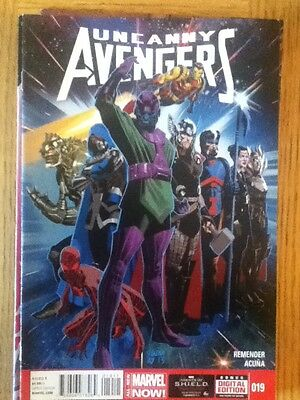 Uncanny Avengers issue 19 (VF) from June 2014 - postage discounts apply