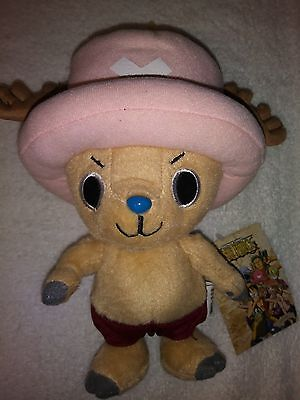 "Great Eastern One Piece 8"" Tony Tony Chopper Authentic Plush Doll Ships from USA"