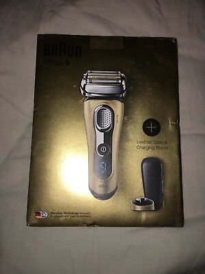 Braun Series 9 Shaver 9299s Electric Shaver Wet/Dry Gold Edition