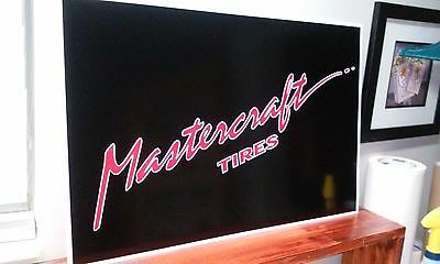 "Martercraft Tires Sign  16"" x 24"""