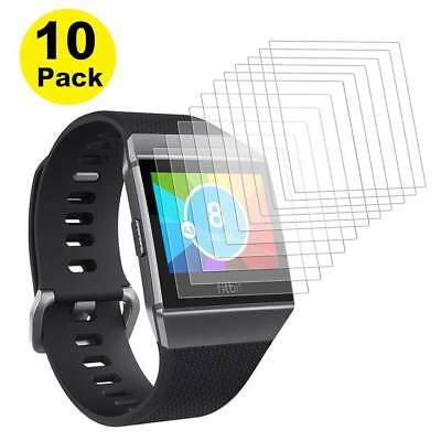 Fitbit Ionic Screen Protector Waterproof Full Coverage HD Clearity Film, 6-Pack