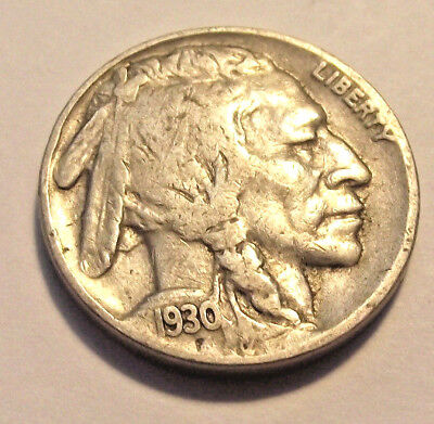 1930s Buffalo Nickel (LOT Y260) See Photographs of actual coin!