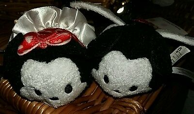 Mickey and Minnie mouse valentine tsum tsum bnwt disney store