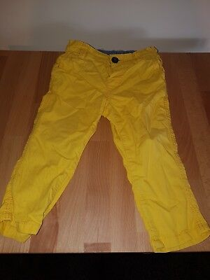 baby yellow jeans 9 - 12 months