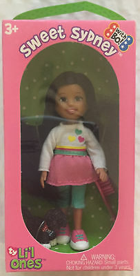 Ty Li'l Ones Doll, New In Box - Sweet Sydney with Puppy Bo New