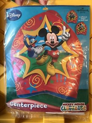Disney MICKEY MOUSE CLUBHOUSE CENTERPIECE Birthday Party Supplies Decorations