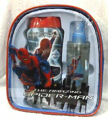 The Amazing Spiderman confezione regalo 200 ml eau de cologne shower gel 475 ml