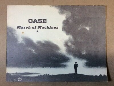 Case - March Of The Machines Brochure 1937 Racine Wisconsin INV-P189